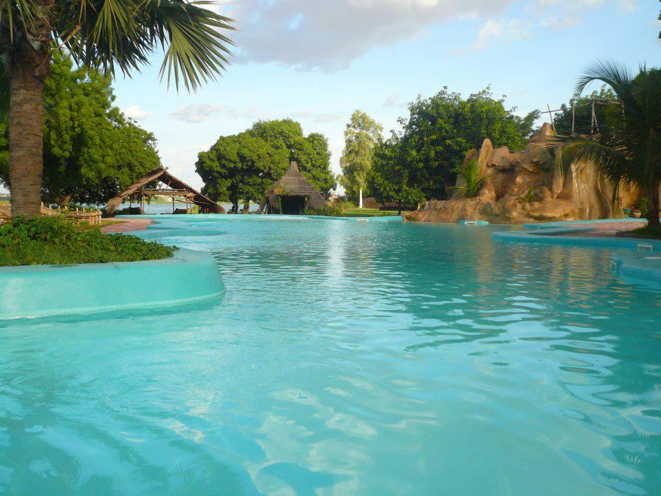 La piscine du BadaLodge - Bamako