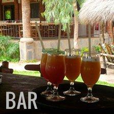 Le bar du BadaLodge à proximité de Bamako