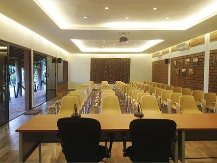 Salle de réunion au BadaLodge - Bamako